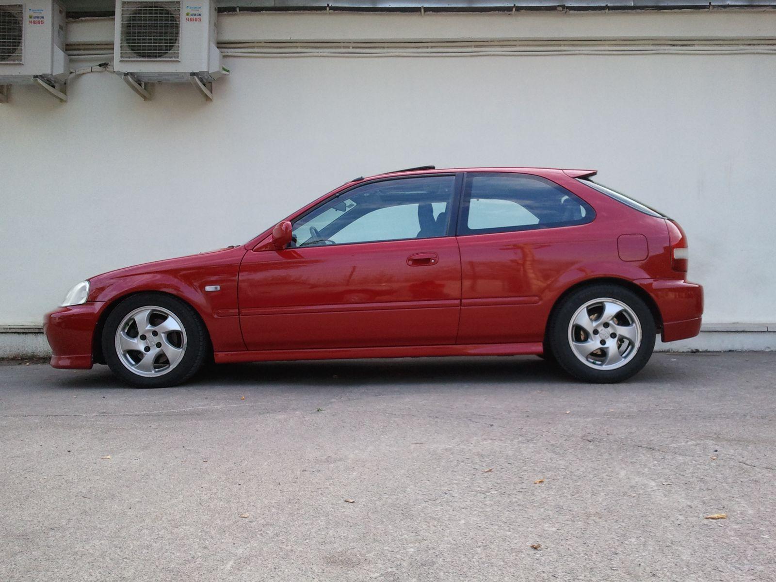 My Red Ek4 Restyling Ek9 Org Jdm Ek9 Honda Civic Type R